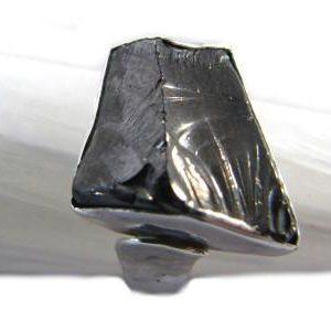 Sterling Silver Elite Shungite Ring