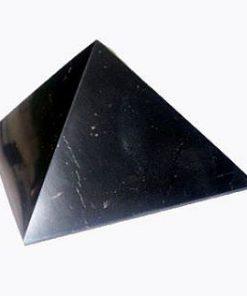 Shungite Polished Pyramid