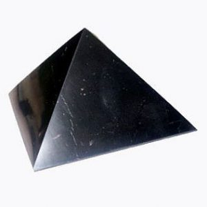 Shungite Pyramid 8cm Polished