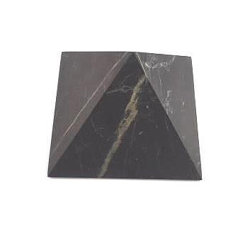 Shungite Unpolished Pyramid
