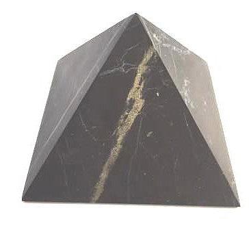 Unpolished Shungite Pyramid