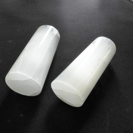 Selenite Harmonizer Set