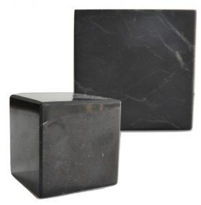 Shungite Cube Polished 4 cm