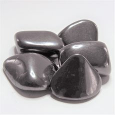 Hi grade Shungite Tumbled Stones