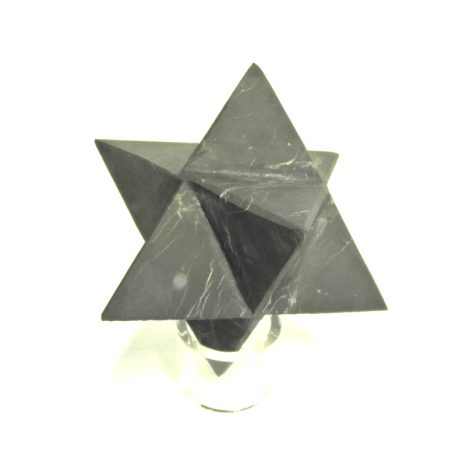 Unplolished Shungite Merkaba