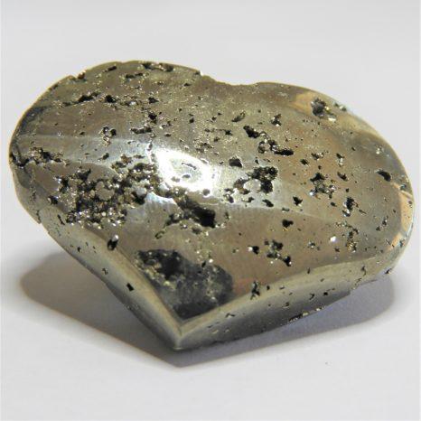 Medium Polished Pyrite Heart
