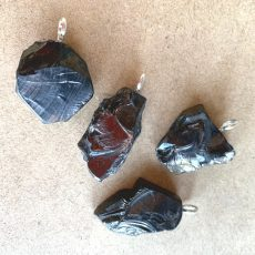 Shungite Medium Pendants