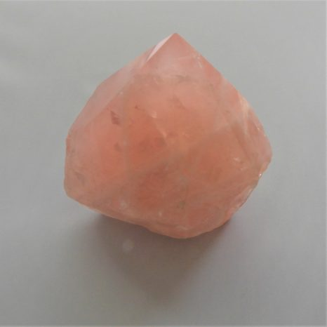 Rose Quartz Base Cut Point