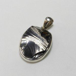 Sterling Silver Pendant Elite Shungite Pendant
