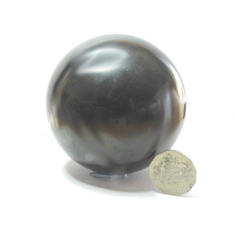 Shungite Sphere 8cm polished