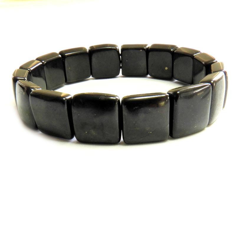 Shungite Square Bracelet