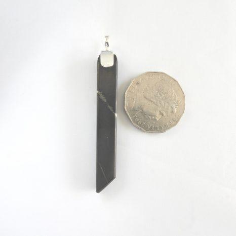 Shungite Chisel Pendant