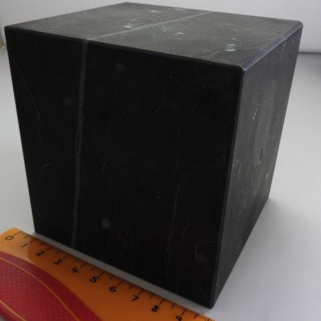 Shungite Cube 10cm Unpolished
