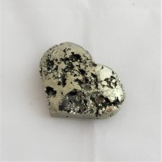 Small Polished Pyrite Heart