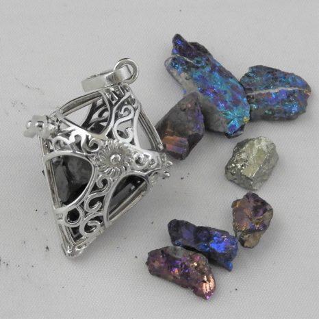 Cross Prayerbox pendant