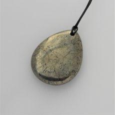Pyrite Teardrop Pendant