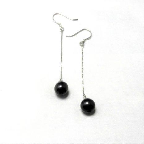 Shungite Drop Earrings