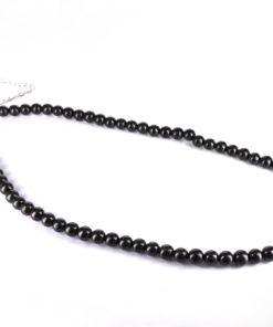 6mm Shungite Beaded Necklace