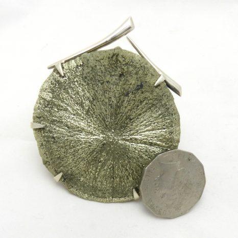 Pyrite Sun Pendant
