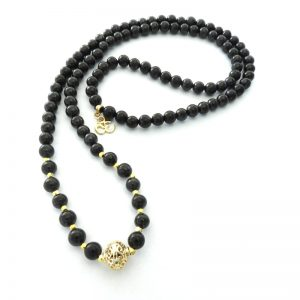 Shungite Harmony Mala 8mm Beads