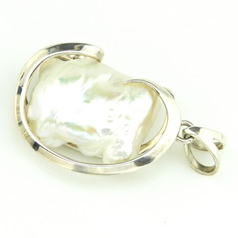 Keshi Pearl Pendant