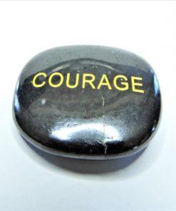 Shungite Word Stones Courage
