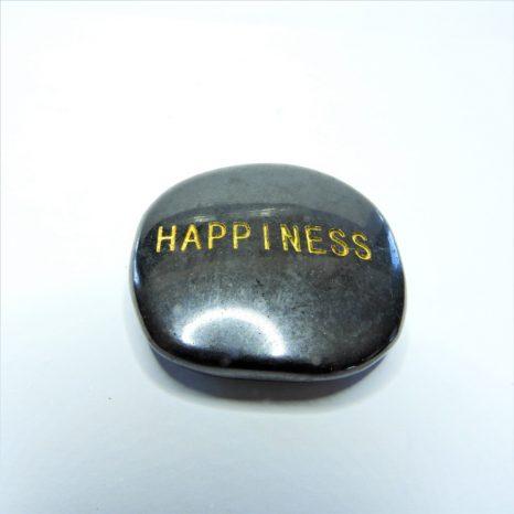 Shungite Word Stones - Happiness