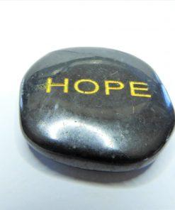 Shungite Word Stones - Hope