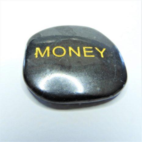 Shungite Word Stones - Money