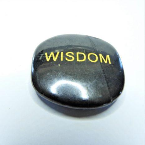 Shungite Word Stones - Wisdom