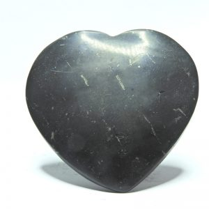 Large Polished Shungite Heart