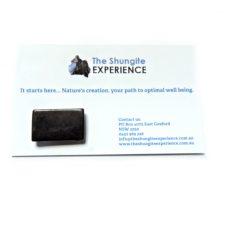 Shungite Mobile Phone Disk Oblong