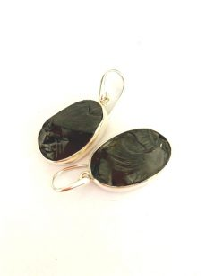 Elite Shungite Large Earrings