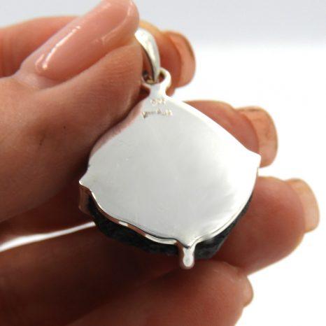 Chunky Moldavite Pendant