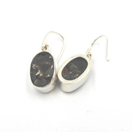 Oval Shungite Earrings