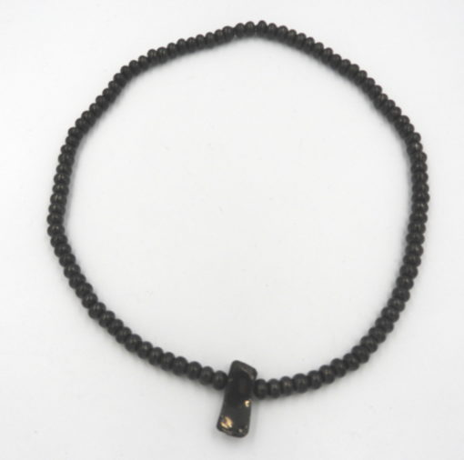 Elite Shungite and Rondelle beaded necklace