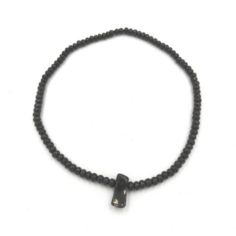 Elite Shungite and Rondell beaded necklace