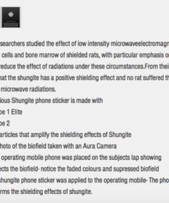 Phone sticker information