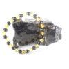 Amber and Shungite bracelet