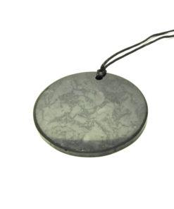 Round Shungite Pendant