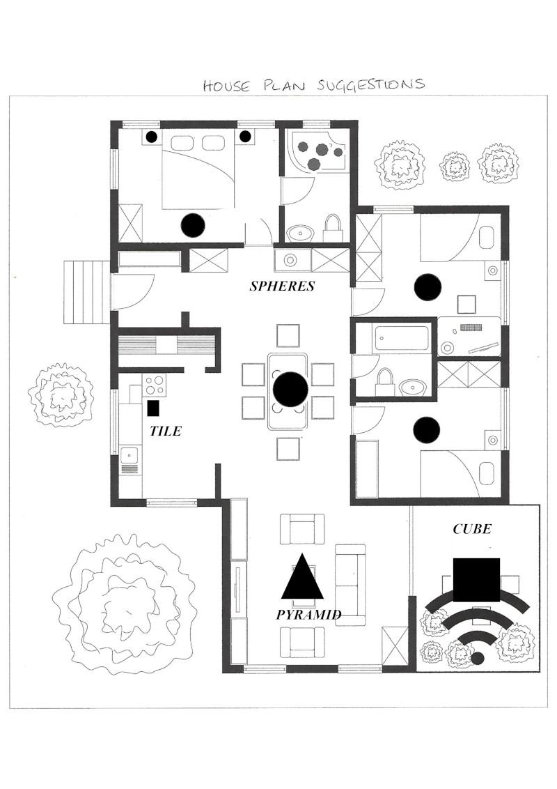 Shungite House Plan
