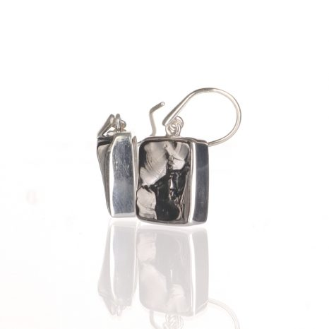 Elite Shungite Square Earrings