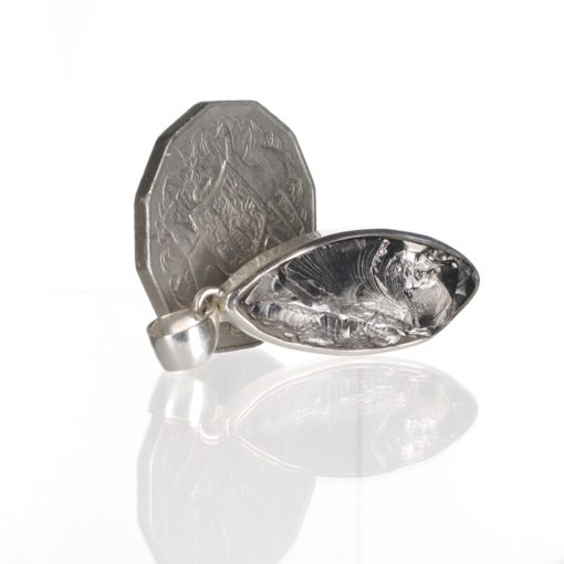 Sterling Silver Elite Shungite Pendant