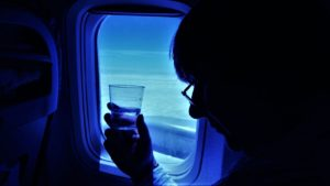 water and plane travel