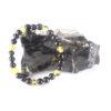 Shungite and Amber childs bracelet