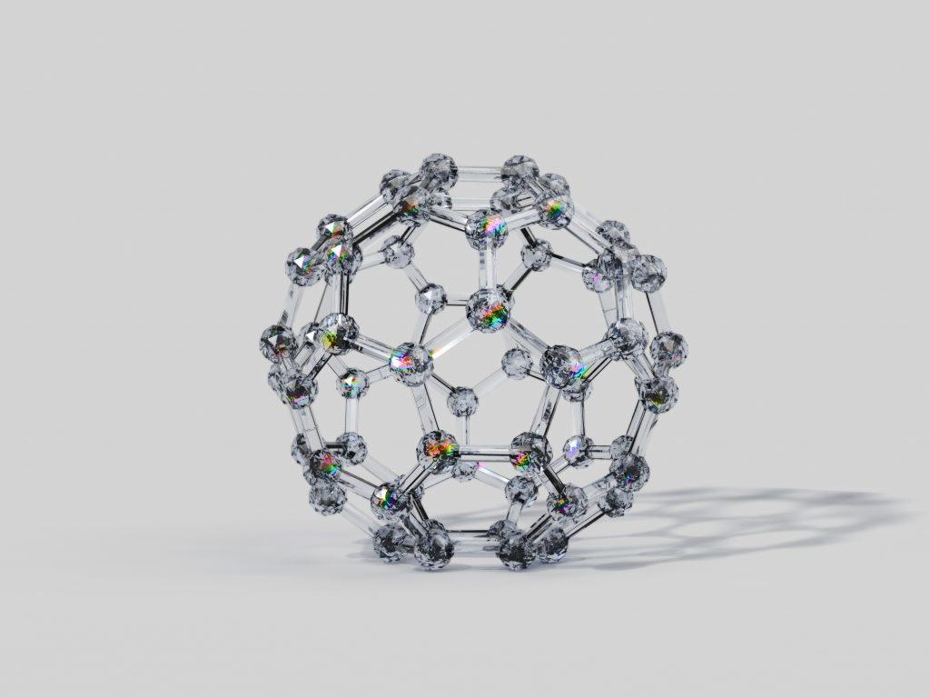 3D Fullerene Molecule